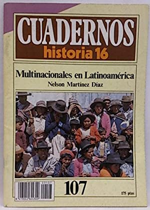 Cuadernos Historia 16. 107. Multinacionales en Latinoamérica: Mandela, Nelson