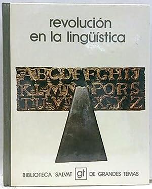 Revolución en la lingüística
