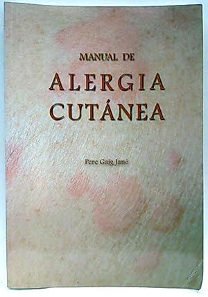 Manual de alergia cutanea: Pere Caig Jané