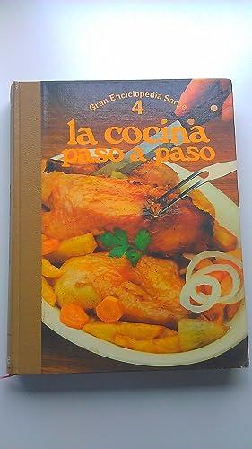 Gran Enciclopedia Sarpe La cocina paso a Paso Nº 4: Varios Autores