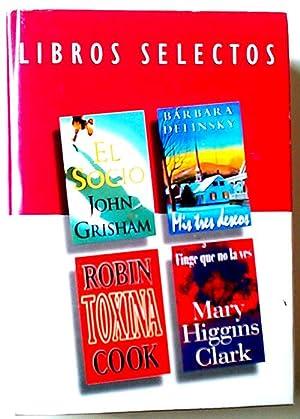 Libros Selectos El Socio - Mis Tres: Grisham, John/Delinsky, Bárbara/Cook,