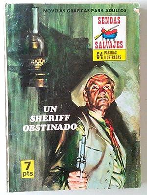 Novela Del Oeste Un Sheriff Obstinado: VVAA
