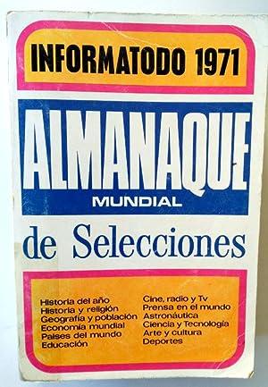 INFORMATODO 1971 - ALMANAQUE MUNDIAL DE SELECCIONES: VVAA