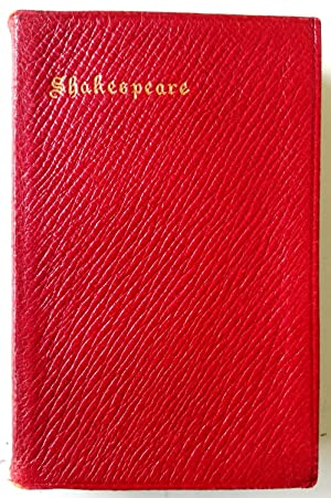 The Oxford Miniature Shakespeare The Complete Works: Shakespeare