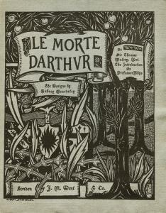 Le Morte D'Arthur. The Birth Life and: Beardsley, Aubrey) -