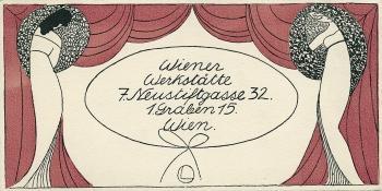 Visitenkarte Der Wiener Werkstätte 7