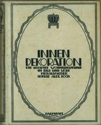 Innendekoration die gesamte wohnungskunst von koch for Innendekoration 1921
