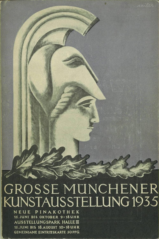 grosse deutsche kunstausstellung 1937 zvab. Black Bedroom Furniture Sets. Home Design Ideas