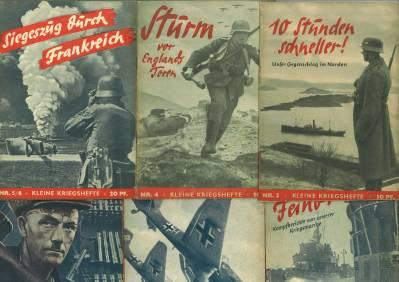 Kleine Kriegshefte. Wehrpolitische Schriftenreihe. Nr. 3 -: Zentralverlag der NSDAP
