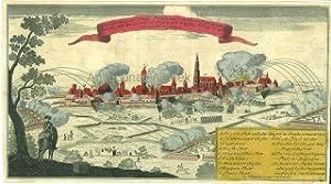 Deutschland - Siebenjährige Krieg] - Belagerung der Königl. Preußischen Stadt und ...