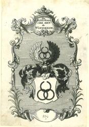 Exlibris - Ex Bibliotheca CHR. ERN. de WINDHEIM.: Windheim: