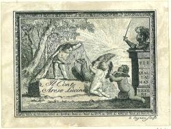 Exlibris - Per Le Alta' Mantenere. Il Conte Arese Lucini.: Cagnoni, D.: