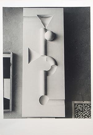 Bauhaus] - Relief aus dem Unterircht Joost Schmidt, 1929.: Bauhaus - Ehrlich, Franz: