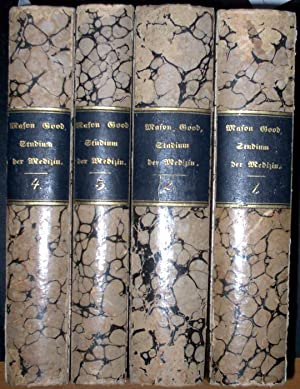 Das Studium der Medizin. Nach der von Samuel Cooper, mit Benutzung der Manuskripte des Verfassers, ...