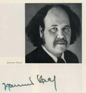 johannes schaaf