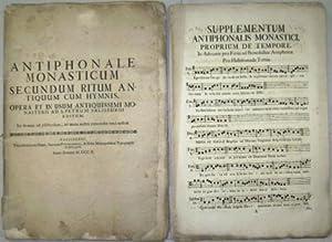 Antiphonale monasticum secundum ritum antiquum cum hymnis.: Erzabtei St. Peter