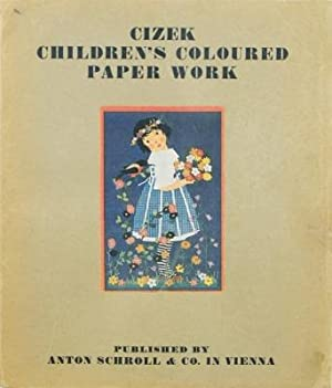 Children coloured paper work.: Cizek, Franz: