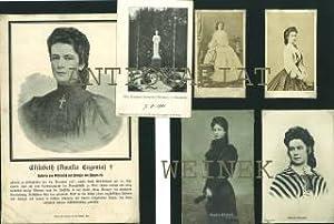 Konvolut. Bestehend aus: zwei Carte des Visites: Österreich - Elisabeth