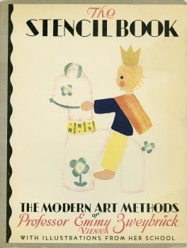 The stencil book. The modern art methods of Professor Emmy Zweybrück. With illustrations from her...