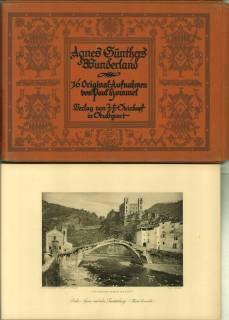 """Agnes Günthers Wunderland. 16 Original-Aufnahmen von Paul Hommel zu Agnes Günthers Buch """"Die ..."""