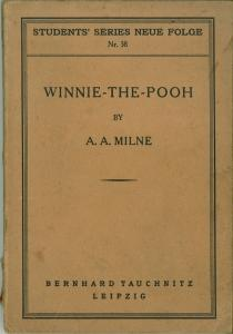 Winnie-The-Pooh. With decorations by Ernest H. Shepard.: Milne, A. A.: