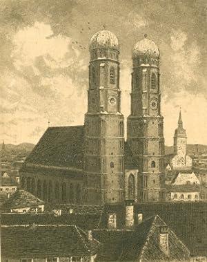 München - Frauenkirche].: Deutschland - [Schuhmann, Paul ?]: