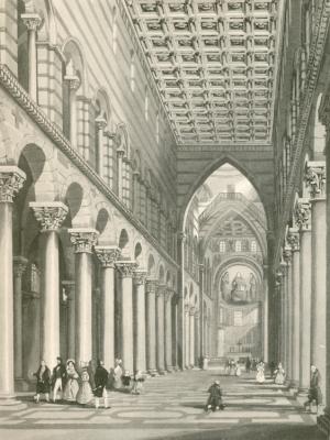 Toscana) - Pise. Intérieure de la Cathédrale. [Pisa].: Italien - Gitie - Vogel: