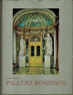 Palazzo Rondinini. Con un catalogo dei marmi antichi di Enrico Paribeni.: Salerno, Luigi: