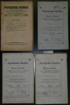 Psychische Studien. Monatliche Zeitschrift, vorzüglich der Untersuchung der wenig gekannten Ph...