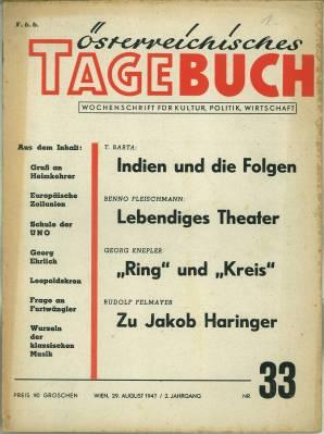 Jakob Haringer und seine Zeit. In: Österreichisches: Haringer, Jakob) -