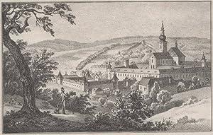 Stift Heiligen Kreuz gegen Westen.: Koll, Malachias]: