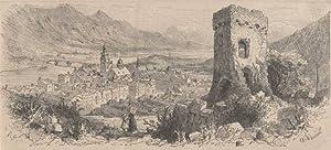Tirol] - Blick auf Rattenberg von der Veste aus.: Püttner, R.: