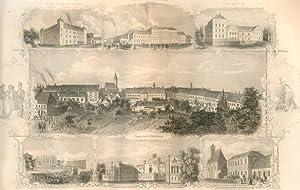 Ungarisch Altenburg und dessen Umgebung. [Sammelblatt].: Ungarn - Reschka: