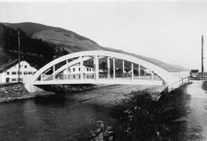 Salzburg - Mittersill, Spannbetonbrücke (direkte Ansicht).: Jurischek jun., C. - Salzburg: