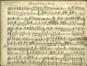 Musick-Stücke [sic] für Piano Forte. [Sammelalbum beinhaltet: Ziehrer, Karl Michael