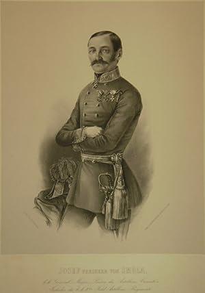 Josef Freiherr von Smola. K.k. General Major Präses des Artillerie Comité's, ...