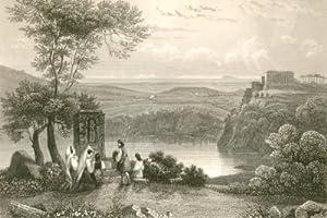 Der Nemi See und Gensano. Il Lago: Italien - Frommel,