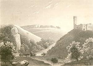 Arteck. [Burg Teck, Landkreis Esslingen?]: Deutschland - Weber, P. - L. Bader: