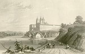 Melk] - Benedictiner-Abtey Moelk an der Donau in Oesterreich. III.: Niederösterreich - Unbez.: