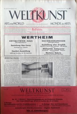 Die Kunstauktion - Deutsches Nachrichtenblatt des gesamten: Die Kunstauktion -