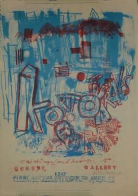 Kortokraks - Paintings and Drawings. Benevy Gallery [New York], 1317, First Avenue between 70 an 71...