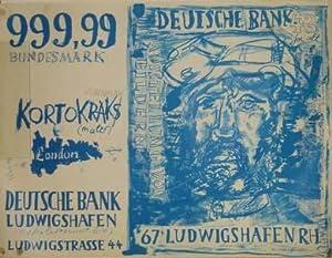 Kortokraks (maler), London - 999,99 Bundesmark. Ausstellung: Kortokraks, Rudolf: