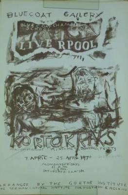 Kortokraks - semi-conventional Paintings, Drawings, Prints. Bluecoat: Kortokraks, Rudolf: