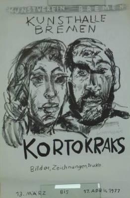 Kortokraks - Bilder, Zeichnungen, Drucke. Kunstverein Bremen,: Kortokraks, Rudolf: