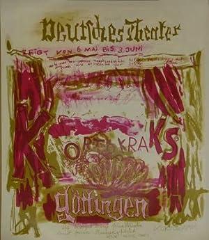 Deutsches Theater zeigt vom 6. Mai bis: Kortokraks, Rudolf: