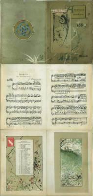 Almanacco della Gazzetta Musicale di Milano 1885.: Ricordi, Giulio: