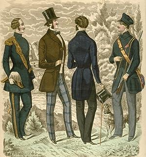 Modes de Paris. Journal des Tailleurs. October No. 7, 1851.: Mode - Unbez.: