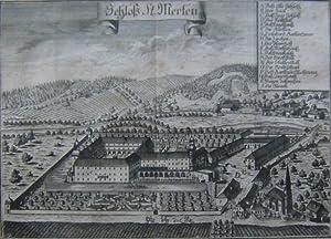 St. Mörten] - Schloß St. Merten. P. 44.: Oberösterreich - [Wening, Michael]: