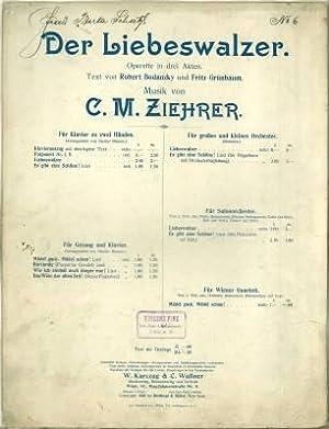 """Mädel guck, Mädel schau! Lied aus der Operette """"Der Liebeswalzer"""". Text von ..."""