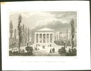 Der Theseus-Tempel im Volksgarten zu Wien.: Wien - Bayrer, J. M. - Höfer: